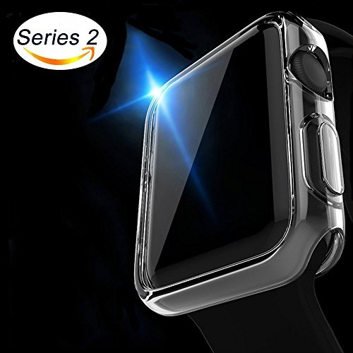 Apple Watch Case Misxi iphone Watch 2 TPU Screen Protector All-around ultra-thin Cover for i Watch Series 2 (42mm) [並行輸入品]