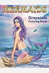Mermaids Grayscale Coloring book: Coloring Books for Adults ペーパーバック