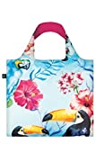 WILD Birds Bag: Gewicht 55 g, Groesse 50 x 42 cm, Zip-Etui 11 11.5 handle 27 water resistant, made of polyester, OEKO-TEX certified, can carry up to 20 kg LOQI(ローキー) LOQI GmbH WI.BI