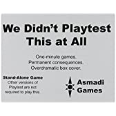 We Didn't Playtest This: Legacies Card Game by Asmadi Games [並行輸入品]