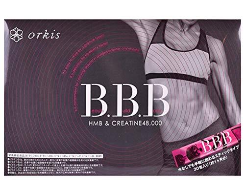 orkis【正規店】 トリプルビー BBB HMB ダイエット サプリ クレアチン 配合 【 AYA先生監修 】 スザンヌさんご愛用 30包1ヶ月分 日本製