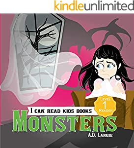Monsters: Book About Monsters For Kids: I can read books for kids level 1 (I Can Read Kids Books 19) (English Edition)