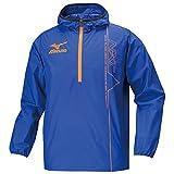(ミズノ)MIZUNO 陸上競技 ウインドブレーカーシャツ U2ME5001 25 サーフブルー×オレンジ M