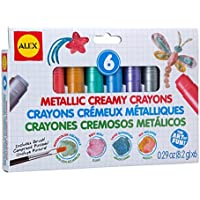 ALEX Toys Artist Studio 6 Metallic Creamy Crayons by ALEX Toys