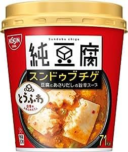 日清食品 純豆腐スンドゥブチゲスープ 17g×6個