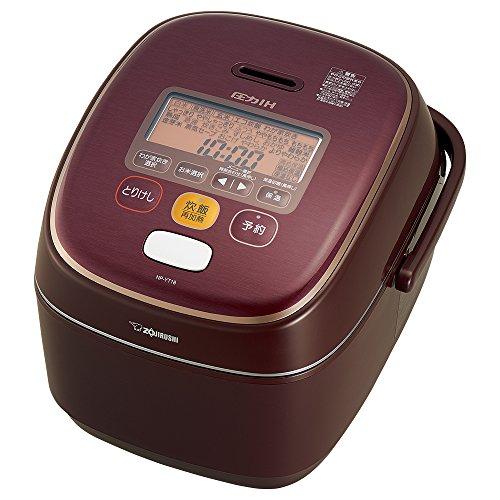 象印 炊飯器 圧力IH式 1升炊き ボルドー NP-YT18...