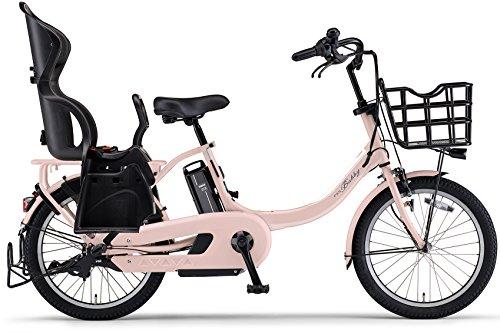 YAMAHA(ヤマハ) 電動アシスト自転車 2017年モデル PAS Babby un 20インチ パウダーピンク (ツヤ消しカラー) リヤチャイルドシート標準装備モデル [高容量12.3Ahバッテリー,液晶5ファンクションメーター搭載] PA20BXLR