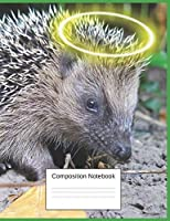 Composition Notebook: Hedgehog Gifts For Little Girls And Boys Fun Adorable Notebook