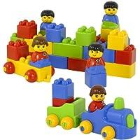 Miniland 94108 Colourful Bricks 47 Pieces by Miniland