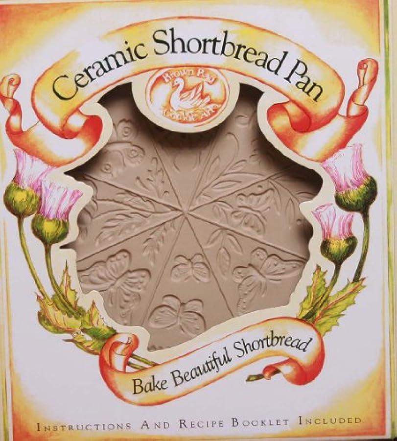 ラメ女の子クラッチBrown Bag Design Butterfly Shortbread Cookie Pan, 29.2cm by 22.9cm