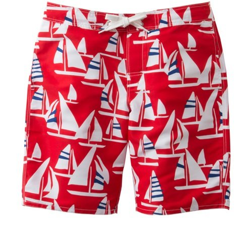 (ヘリーハンセン)HELLY HANSEN Yacht Print Water Shorts HE71601 R レッド XL