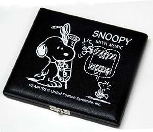 スヌーピー リードケース バリトンサクソフォン (5枚入) ブラック