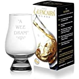 Official Glencairn Crystal Whisky Tasting Glass - A Wee Dram 1 2 4 6 8