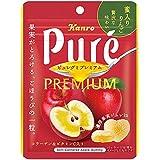 カンロ ピュレグミプレミアム蜜入りりんご 63g ×6袋