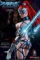限定版【TBLeague】1/6 フィギュア 用素体セット雷の女神 PL2018-88 Goddess of Lightning 超柔軟性・シームレス・女性 セクシー美人ヘッド 武器