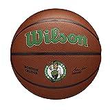 Wilson(ウイルソン) バスケットボール NBA TEAM ALLIANCE BSKT BOSTON CELTICS (7号球 NBA チーム アライアンス ボストン セルティックス) メンズ WTB3100XBBOS 7号/ 直径約24.5cm BROWN