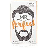 Mr Beard Soaps Mr. Perfect, Spearmint and Patchouli, 200g, Red