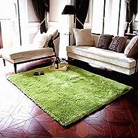 ラグ みどり 洗える ラグマット カーペット 絨毯 多色選 60*200cm 滑り止め付 (約2畳) 夏 冷房対策 床暖房対応 センターラグ抗菌 長方形 カーペット ホットカーペットカバー対応 滑り止め付き