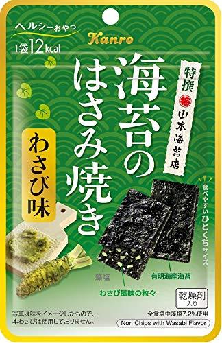 カンロ 海苔のはさみ焼きわさび味 4.0g ×6個