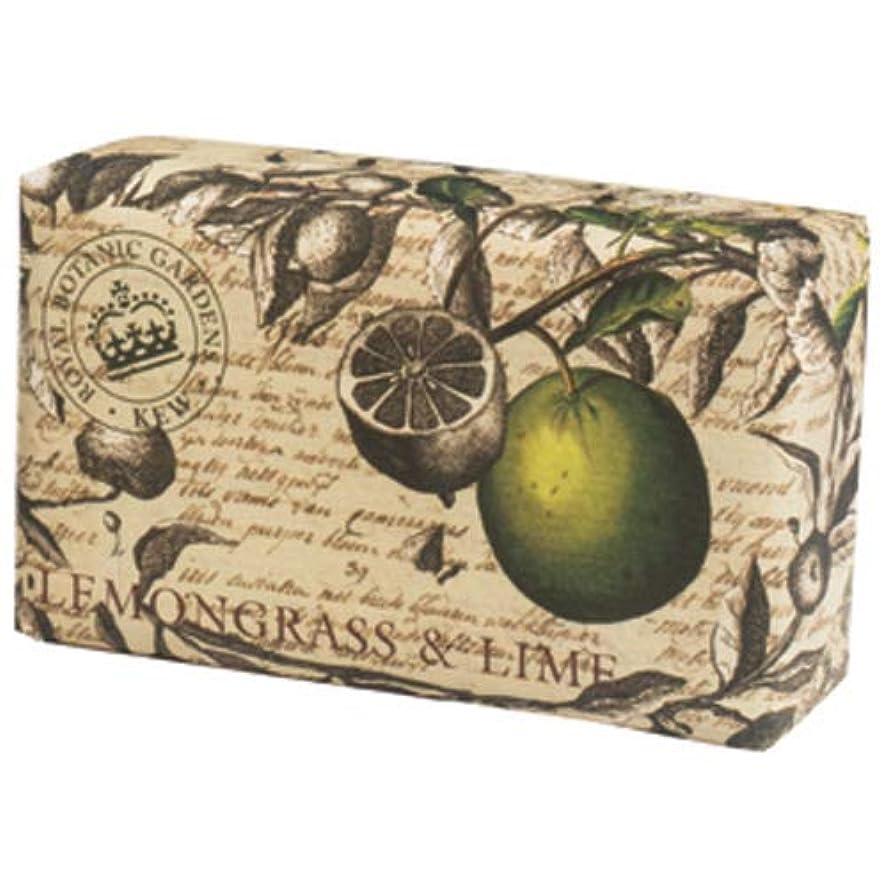 誇りサスティーンバーベキューEnglish Soap Company イングリッシュソープカンパニー KEW GARDEN キュー?ガーデン Luxury Scrub Soaps スクラブソープ Lemongrass & Lime レモングラス&ライム