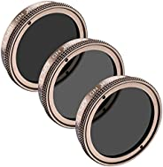 Neewer for DJI Phantom 4,Phantom 3 Professional and Advanced Filter Set Includes Multi-coated ND4/PL Filter,ND