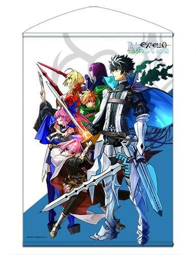 Fate/EXTELLA LINK ビジュアルタペストリー 約72.8cm×51.5cm
