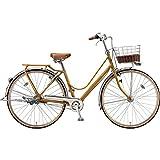 ブリヂストン シティサイクル自転車 カジュナベーシックライン(チェーン) CB6TP E.Xキャラメルブラウン E.Xキャラメルブラウン