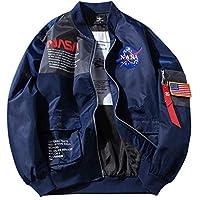 Honiee Men's Bomber Flight Jacket Patches