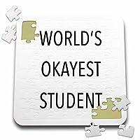 Tory Anneコレクション引用–Worlds Okayest学生–10x 10インチパズル( P。_ 238404_ 2)