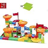 コースター積み木おもちゃ DIY積み木 立体パズルおもちゃ  想像力、創造力育てる 知育玩具 子供、女の子 男の子 148pcs(Happy Time)