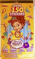 Peachtree Playthings Fancy Nancy 4 Sheet Sticker Book - 150+ Stickers [並行輸入品]