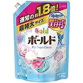 ボールド 洗濯洗剤 液体 プラチナクリーン プラチナピュアクリーンの香り 詰め替え 超特大 1.26kg