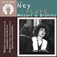 Mozart: Piano Concerto No.15; Brahms: Piano Concerto No.2 by Elly Ney (2013-07-09)