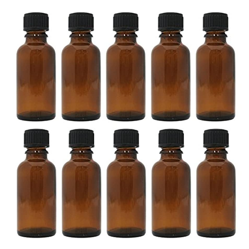 サーバント演劇後退する茶色遮光瓶 30ml (ドロッパー付) 10本セット