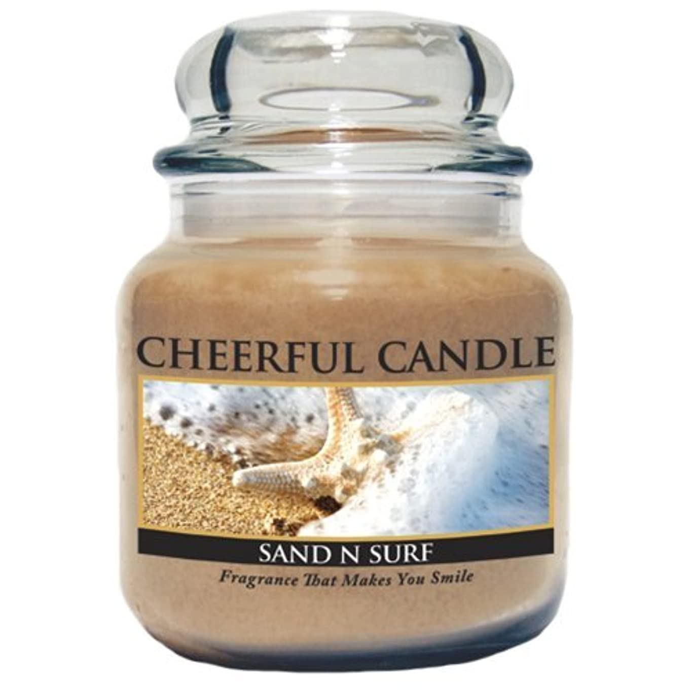 A Cheerful Giver Sand and Surf Jar Candle, 24-Ounce by Cheerful Giver [並行輸入品]