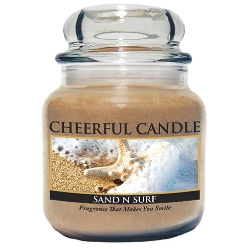田舎者ロゴ神学校A Cheerful Giver Sand and Surf Jar Candle, 24-Ounce by Cheerful Giver [並行輸入品]