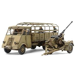 タミヤ 1/35 ミリタリーコレクション No.10 ドイツ 3.5トントラック AHN 3.7cm対空機関砲 37型セット プラモデル 32410