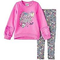 JoJo Little Girls' Legging and Fleece Top Clothing Set