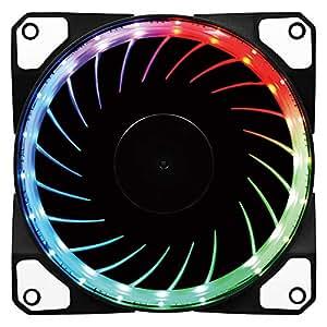 アイネックス RGB LEDファン 120mm PWM WL-120-R