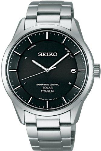 [セイコー]SEIKO 腕時計 SPIRIT スピリット ソーラー電波修正 サファイアガラス スーパークリア コーティング 日常生活用強化防水 (10気圧) Comfotex Ti コンフォテックス チタン 耐メタルアレルギー SBTM211 メンズ