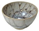 京焼 清水焼 柳窯 抹茶碗 (紐付木箱入) 万華油滴 TXX634