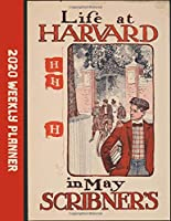 """Life At Harvard: Large Weekly Calendar With Goal Setting Section and Habit Tracking Pages, 8.5""""x11"""""""