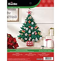 Bucilla Nordic Tree Advent Calendar Felt Applique Kit by Bucilla