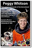 Astronaut Peggy Whitson - First American Woman Commander of the International Space Station - NEW NASA Poster