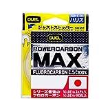 デュエル(DUEL) ライン(フロロカーボン): POWERCARBON MAX 50m 1.5号 : スーパークリア
