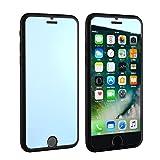 iPhone6/6s/7(4.7インチ) 6Plus/6sPlus/7Plus(5.5インチ) アイフォン 完全対応 鏡面 マジックミラー ミラータイプガラスフィルム 軽量 薄型 飛散防止 3Dtouch対応 気泡ゼロ 高透過率 硬度9H 厚さ0.33mm 強化ガラスプロテクター 液晶前後保護フィルム (iPhone6Plus/6sPlus/7Plus, シルバー) [並行輸入品]