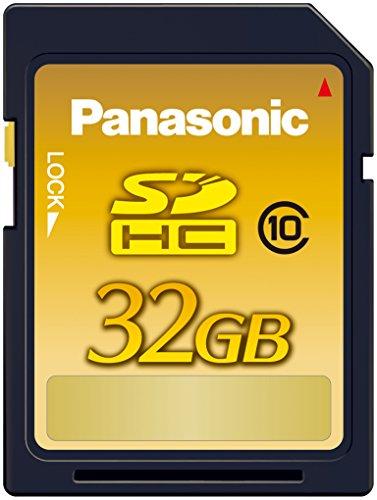 パナソニック 32GB SDHCメモリーカード CLASS10 RP-SDWA32GJK