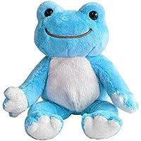 かえるのピクルス ぬいぐるみ ビーンドール 虹色 レインボー 107213-17 カエル ピクルスザフロッグ 着せ替え人形 小さめ 子供 大人