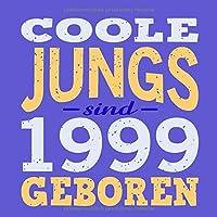 Coole Jungs sind 1999 geboren: Cooles Geschenk zum 20. Geburtstag Geburtstagsparty Gaestebuch Eintragen von Wuenschen und Spruechen lustig / Design: Spruch lustig Vintage Retro