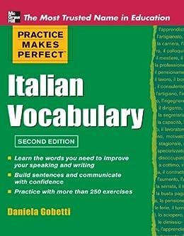 Practice Makes Perfect Italian Vocabulary (Practice Makes Perfect Series) by [Gobetti, Daniela]